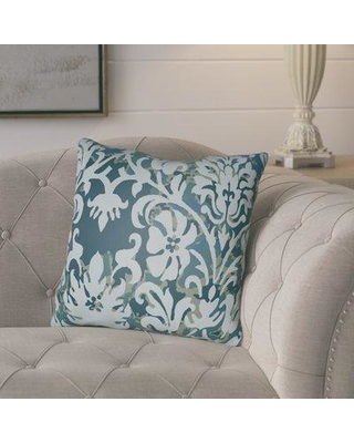 """Ophelia & Co. Amiyah Throw Pillow OPCO1350 Color: Light Blue Size: 22"""" H x 22"""" W x 5"""" D"""