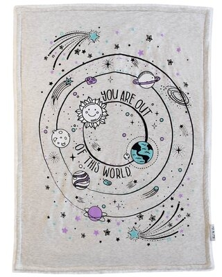 Galaxy Baby Blanket Lil Be
