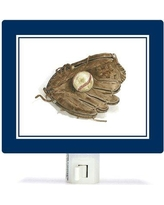 Oopsy Daisy Non-Personalized Sports and Games Ball in Glove Canvas Night Light NB59985