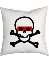 SafiyaJamila Holiday Treasures Super Bone Head Throw Pillow SuperBoneHead_1