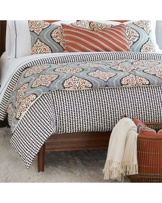 Eastern Accents Bowie Reversible Duvet Cover NCX1907 Size: Super Queen