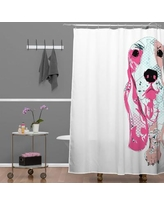 Deny Designs Casey Rogers Bassett Shower Curtain 17144-shocur