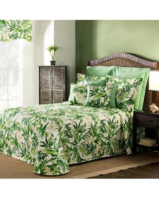 thomasville at home Wailea Verta Single Coverlet TVAH1587 Size: King Coverlet
