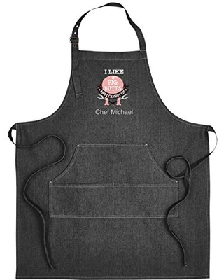 Personalized embroidered Apron-Grilling Apron-Chef Apron-Cooking apron-Apron funny sayings-personalized mens apron-personalized womens apron