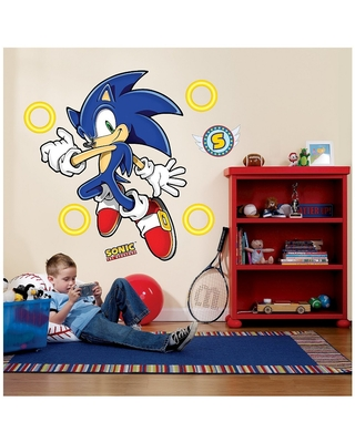 Can T Miss Deals On Sonic The Hedgehog Giant Wall Decals