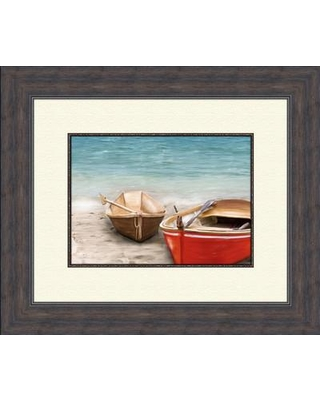 PTM Images Boats B Framed Painting Print 2-4746B