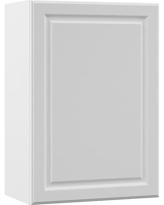 Hampton Bay Designer Series Elgin Assembled 21x30x12 in. Wall Kitchen Cabinet in White