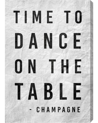 Oliver Gal Time To Dance Canvas Wall Art, Size 16x24 - White
