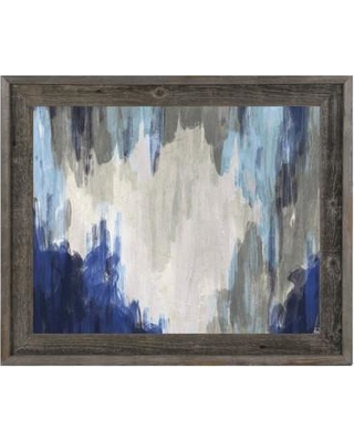 Amazing Savings On Click Wall Art Hidden Cave Blue Framed Painting