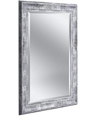 Head West Frarmhouse Gray, 31 inches by 43 inches Wall Mirror