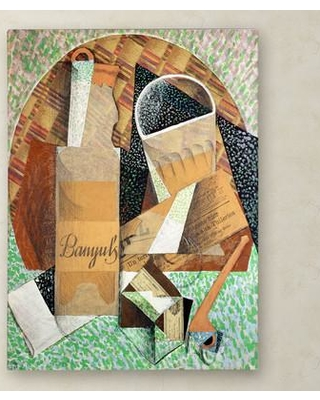 """Trademark Art 'The Bottle of Banyuls 1914' Painting Print on Wrapped Canvas BL01236-C Size: 19"""" H x 14"""" W x 2"""" D"""