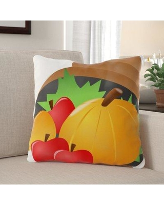 The Holiday Aisle Hazley Fruits Indoor/Outdoor Throw Pillow W000493876