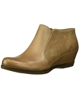 Dansko Women's Luann Ankle Boot, Taupe Burnished Nubuck, 40 M EU (9.5-10 US)