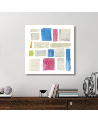 "East Urban Home 'Comares III' Graphic Art Print on Canvas UBAH5957 Size: 36"" H x 36"" W x 1.5"" D"