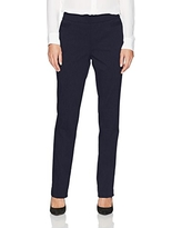 Briggs Women's Super Stretch Millennium Welt Pocket Pull on Career Pant, Navy, 18