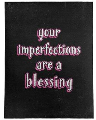 Special Prices On East Urban Home Imperfections Inspirational Quote Chalkboard Style Poly Chenille Rug Fcls7745 Rug Size Rectangle 9 X 12