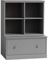Cameron Cubby & Drawer Base, Charcoal, Unlimited Flat Rate Delivery
