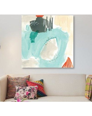 """East Urban Home 'Chromatic Inference I' Painting Print on Wrapped Canvas ESUR2428 Size: 26"""" H x 26"""" W x 1.5"""" D"""