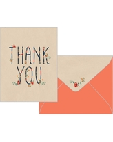Rose Arbor Thank You Cards (10 count), Multi-Colored