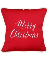The Holiday Aisle Sunbrella Christmas Holiday Throw Pillow THDA8367