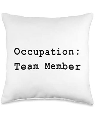 Agile & Kanban Project Managers Official Agile Team Member Role Project Management Funny PM Coach Throw Pillow, 16x16, Multicolor