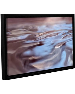 """Latitude Run Wavescape I Framed Photographic Print on Wrapped Canvas LTRN5776 Size: 24"""" H x 36"""" W x 2"""" D"""