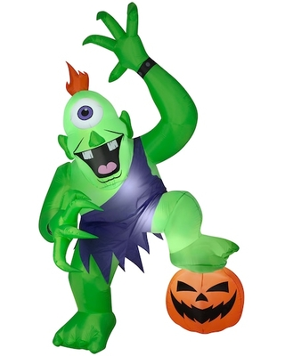10Ft Airblown® Inflatable Halloween Giant Ogre By Gemmy Industries in Green   Michaels®