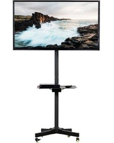 """Vivo Mobile Floor Stand Mount for 23""""-55"""" Screens STAND-TV04MW Finish: Black"""