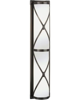 "Robert Abbey Drexel 25"" Wide Bronze ADA Wall Sconce"