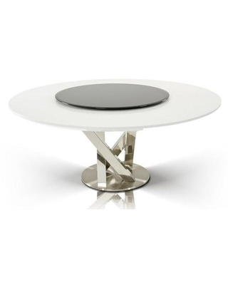 Huge Deal On Vgunac833 180 Wht A X Spiral Round Dining Table