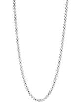 Silpada /'Catena/' Beaded Necklace in Sterling Silver