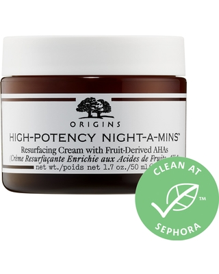 Origins High-Potency Night-a-Mins™ Resurfacing Cream with Fruit-Derived AHAs 1.7 oz/ 50 mL