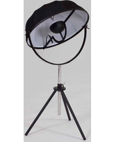"Wrought Studio Mary 31"" Tripod Table Lamp WRSD1422 Color: Black"