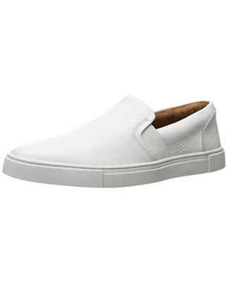 Frye Women's Ivy Slip On Sneaker, White, 10 Medium US