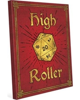 """Click Wall Art High Roller Painting Print on Wrapped Canvas in Ruby Gold GRM0000127CAN Size: 20"""" H x 16"""" W x 1.5"""" D"""