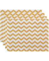 "Viv + Rae Milo Decorative 18"" Placemat VVRO4184 Color: Yellow"