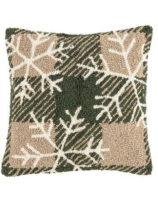 Find Big Savings On The Holiday Aisle Warfield Snow Throw Pillow Cotton Polyester Polyfill In Green Size 18x18 Wayfair 1f9d8965684740d0b69a95194470595c