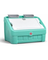 Step2 2 in 1 Toy Box Plastic, Size 19.0 H x 30.5 W x 19.0 D in | Wayfair 481899