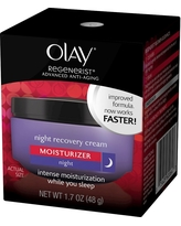 Olay Regenerist Night Recovery Cream Moisturizer, 1.7 oz