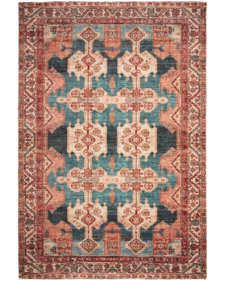 Sales For Coral Persian Style Zara Area Rug 6 X 9 By World Market