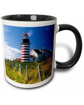 Can T Miss Bargains On East Urban Home Maine Lubec West Quoddy Head Lighthouse Jaynes Gallery Coffee Mug Ceramic In Red Blue Green Size 3 H X 3 W X 4 D Wayfair