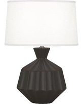 "Robert Abbey Orion 18"" Table Lamp RAB3832 Base Finish: Matte Coffee"