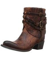 Lane Boots Women's Dove Western Boot, Brown, 11 M US