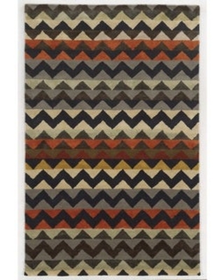 Rizzy Home Gillespie Avenue New Zealand Wool Hand-tufted Accent Rug (8' x 10') - 8' x 10'