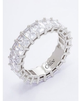 Eternity Ring with Simulated Cubic Zirconia Birthstones