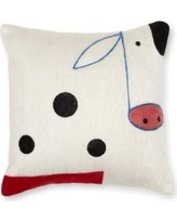 Amity Home Cow Wool Throw Pillow SG109