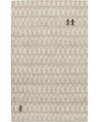 Union Rustic Pillar Hand-Tufted Beige Area Rug UNRS7784 Rug Size: 5' x 8'
