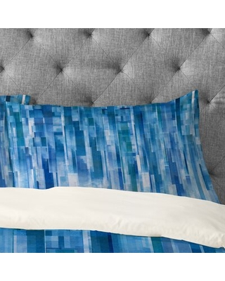 Amazing Sales On Rain Pillowcase Wrought Studio Size King Color Blue