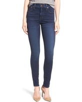 Women's Madewell 10-Inch High-Rise Skinny Jeans, Size 31 - Blue