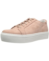 Kenneth Cole REACTION Women's Cheer-y Platform Lace Up Sneaker, Rose, 9 Medium US